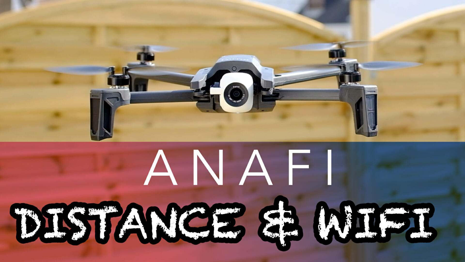 Parrot Anaf : test distance & wifi